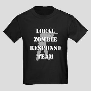 LOCAL ZOMBIE RESPONSE TEAM Kids Dark T-Shirt
