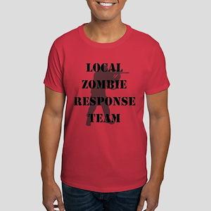 LOCAL ZOMBIE RESPONSE TEAM Dark T-Shirt