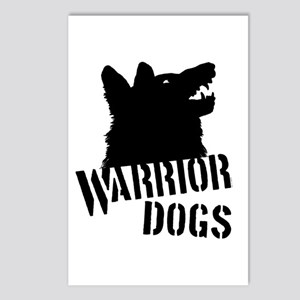 Warrior Dogs Postcards (Package of 8)