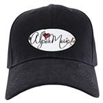 Alyssa Marie Coon Baseball Black Cap With Patch
