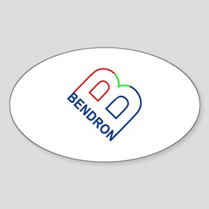 Bendron Oval Sticker