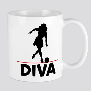 Bowling Diva Bowler Mug