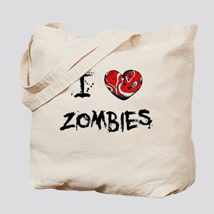 I Love Zombies - Tote Bag