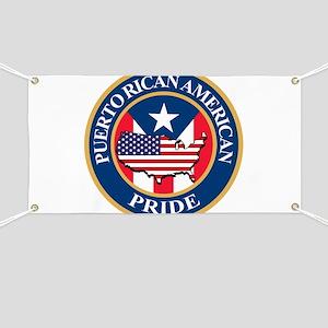 Puerto Rican American Pride Banner