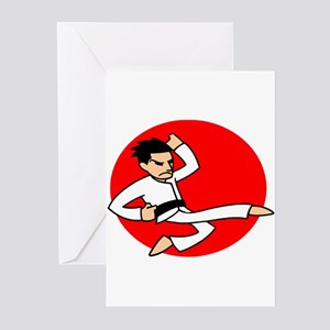 Karate! Greeting Cards (Pk of 10)