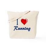 I Heart Running Tote Bag