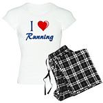 I Heart Running Women's Light Pajamas
