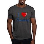 I Heart Running Dark T-Shirt