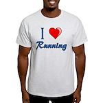 I Heart Running Light T-Shirt