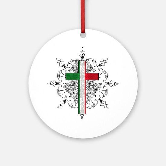 italian pride Ornament (Round)
