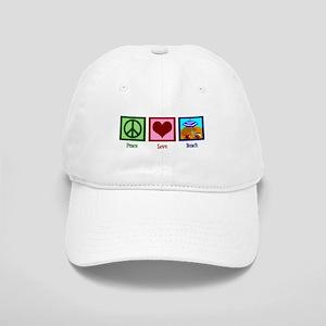 Peace Love Beach Cap