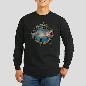 Dad the legend Long Sleeve Dark T-Shirt