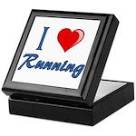 I Heart Running Keepsake Box