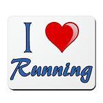 I Heart Running Mousepad