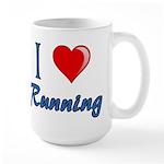 I Heart Running Large Mug