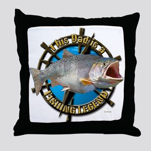Dad the legend Throw Pillow