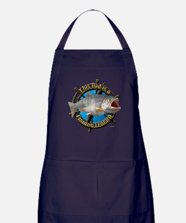 Dad the legend Apron (dark)