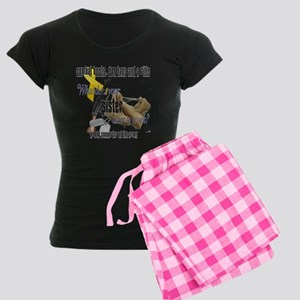 Army What Does Your Sister Wear Women's Dark Pajam