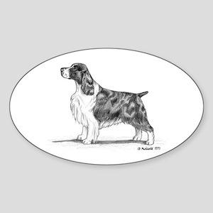 English Springer Spaniel Sticker (Oval)