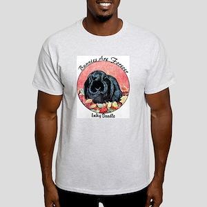 Holland Lop Rabbit Ash Grey T-Shirt