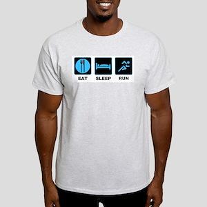Eat sleep run Light T-Shirt