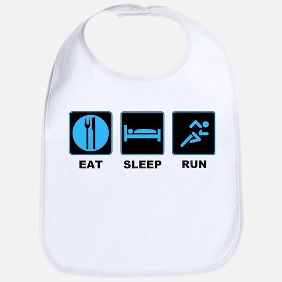 Eat sleep run Bib