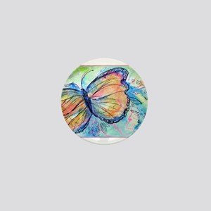 Beautiful, Butterfly, Mini Button