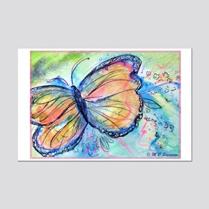 Beautiful, Butterfly, Mini Poster Print