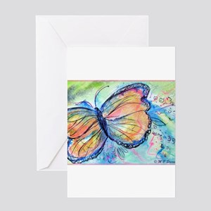 Beautiful, Butterfly, Greeting Card