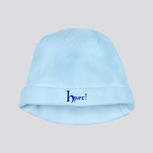 Hwaet! (Blue) baby hat
