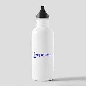 Lofgeornost (blue) Stainless Water Bottle 1.0L