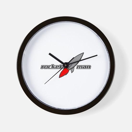 Cute Rocket Wall Clock