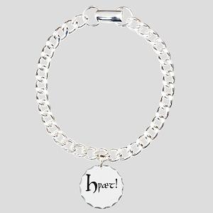 Hwaet! Charm Bracelet, One Charm