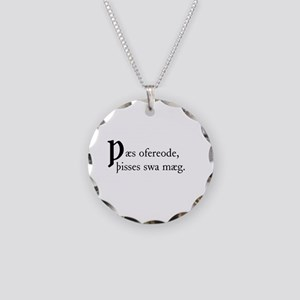 Thaes Ofereode Necklace Circle Charm