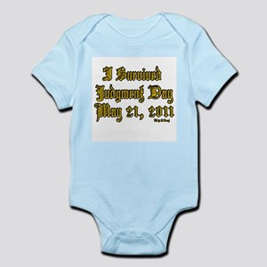 I Survived Judgment Day May 21, 2011 Infant Bodysu