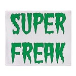 Super Freak Throw Blanket
