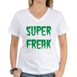 Super Freak Women's V-Neck T-Shirt