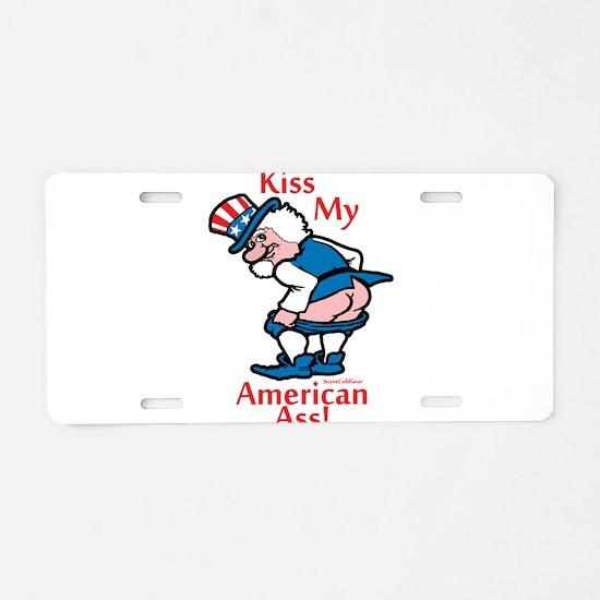 Cool Bbq Aluminum License Plate