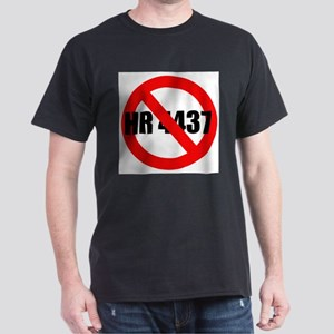 No HR 4437 Black T-Shirt