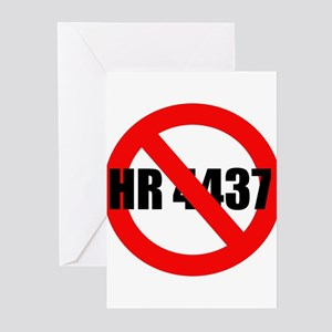 No HR 4437 Greeting Cards (Pk of 10)