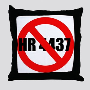 No HR 4437 Throw Pillow