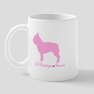 French Bulldog Pink Mug