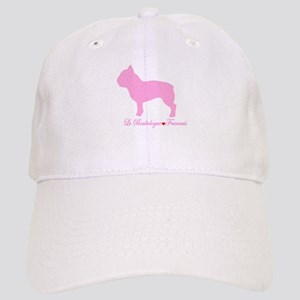 French Bulldog Pink Cap