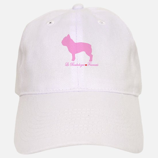 French Bulldog Pink Baseball Baseball Cap