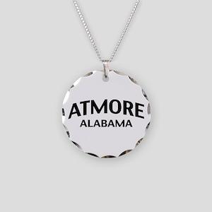 Atmore Alabama Necklace Circle Charm