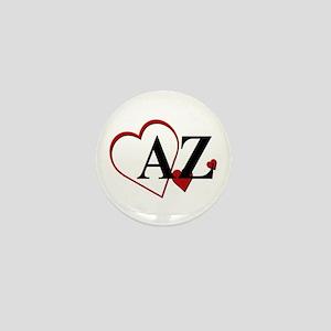 Love Arizona Heart Mini Button