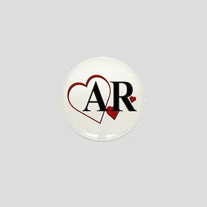 I Love Arkansas Heart Mini Button