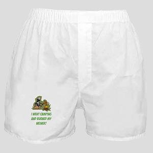 Burned My Weiner! Boxer Shorts
