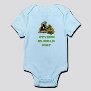 Burned My Weiner! Infant Bodysuit