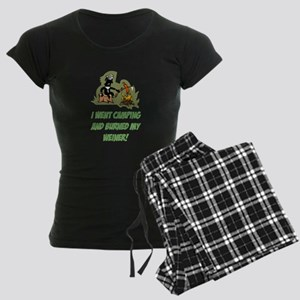 Burned My Weiner! Women's Dark Pajamas